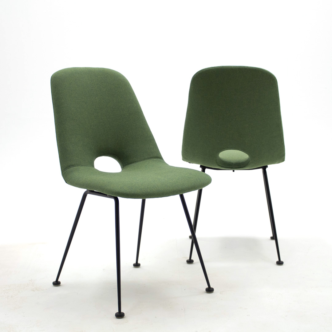 Set vintage design chairs